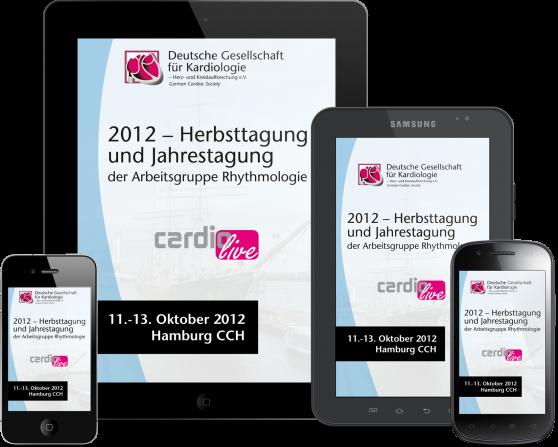 DGK HT2012 - App zur Herbsttagung für iPhone, iPad, Adroid und mobile Devices